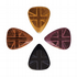 Flag Tones Union Jack Mixed Pack of 4 Guitar Picks